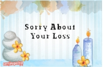 Sorry About Your Loss