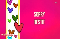 Sorry To Best Friend