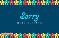 Sorry Honey Images