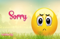Sorry Smiley Face Images