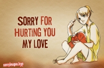 Sorry Images for Husband
