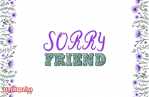 Sorry Image For Best Friend