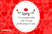 Sorry With Love