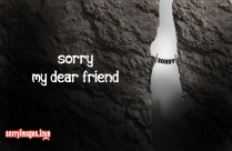 I Am Sorry For Blaming You