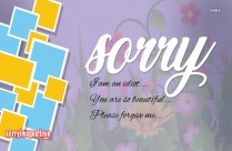 Sorry So Sorry