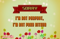 Sorry Please Forgive Me Ecard