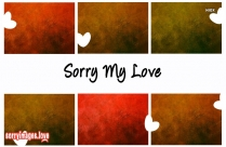 Sorry Photo Love