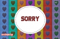 Sorry Babe Images