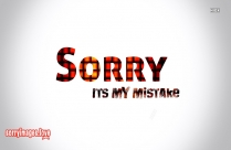 Sorry Love You Image