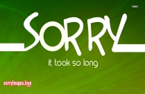 Formal Way To Say Sorry Images