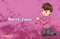 Sorry Janu Apology Message