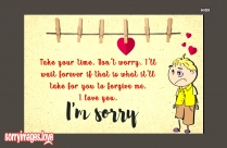 Sorry Love Image For Husband