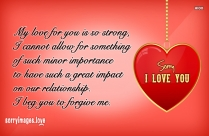 Sorry Quotes For My Boyfriend