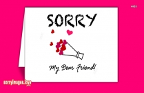 Extremely Sorry Friend