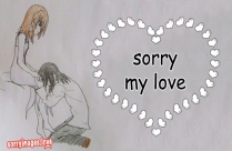 Sorry With Broken Heart For Love