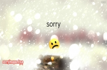 sorry images with smiley
