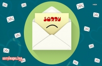 Sorry On Email