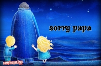 Sorry Papa Image, Wallpaper
