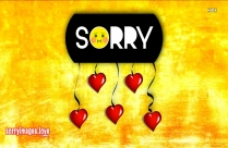Sorry My Apology Image