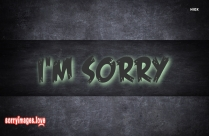 Sorry Hd Images