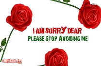 I Am So Sorry Dear