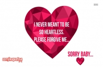 Sorry Hd Images For Love