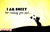 Sorry Baby Cute Image