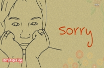 Sorry Image For Her