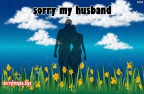 Sorry Status For Husband