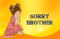 Sorry Image For Brothers