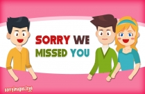 Sorry My Friend Image