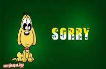 Sorry With Sad Face