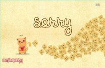 Sorry With Smile Images