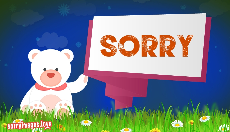 Whatsapp Sorry Status - Sorry Wallpaper Images For Free Download