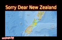 Sorry Dear New Zealand, Stay Safe
